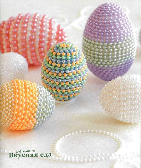 Яйца красим на Пасху