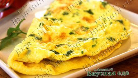 Омлет на сковороде-рецепт с фото