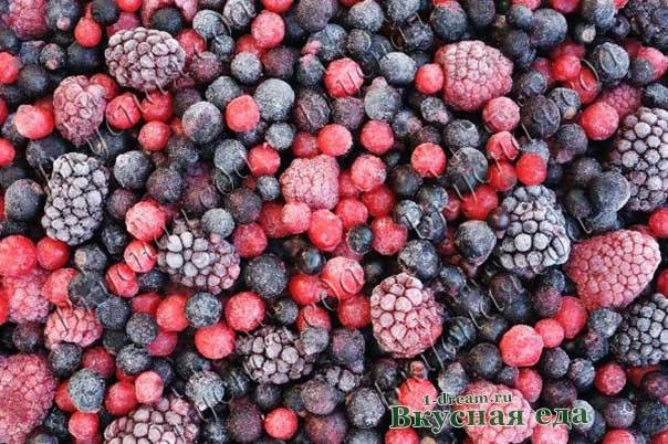 Заморозка ягод на зиму -рецепты