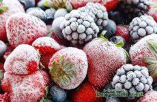 Заморозка ягод на зиму