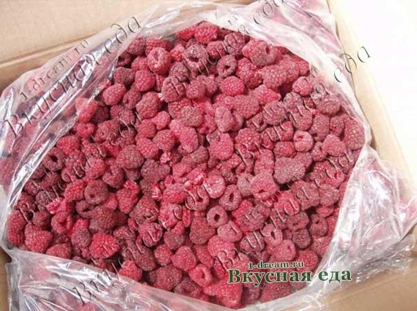 Заморозка на зиму ягод