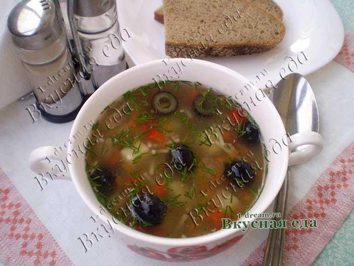 Вкусный суп из курицы рецепт с фото