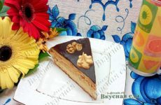 Бисквитный торт со сгущенкой «Юбилейный»