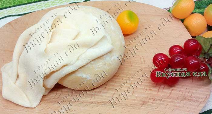 Заварное тесто для вареников и пельменей