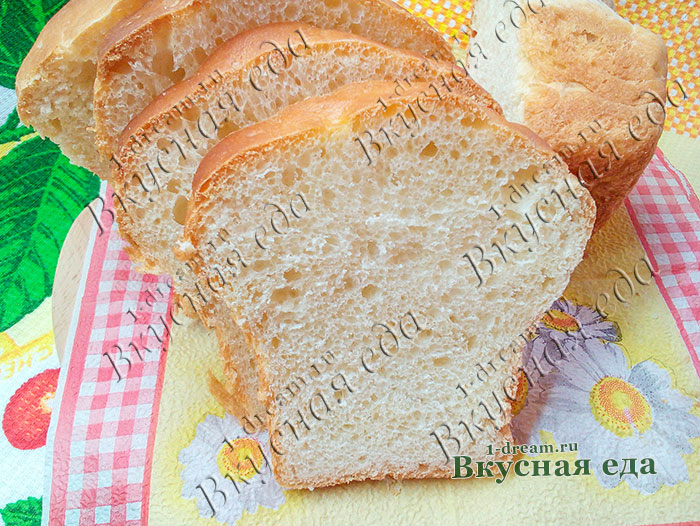 Хлеб на сыворотке - рецепт с фото