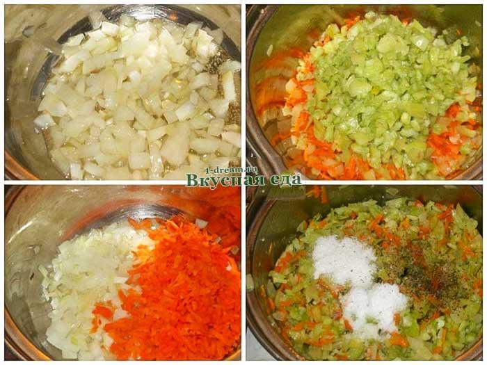 Икра из зеленых помидоров с луком и морковью