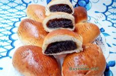 Вкусные пирожки с черносливом