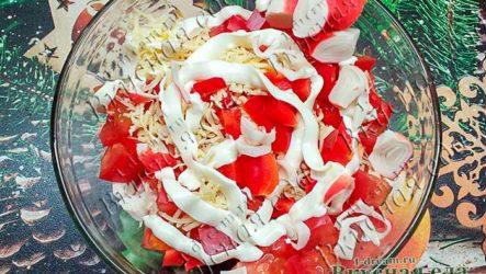 Салат крабовый «Красное море»