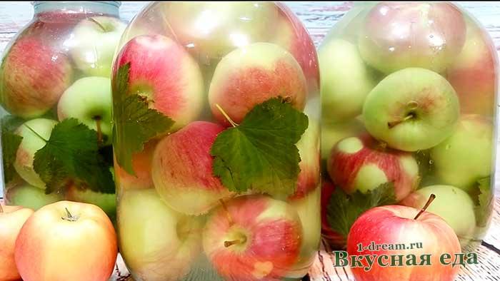 Вкусные моченые яблоки по простому рецепту с фото