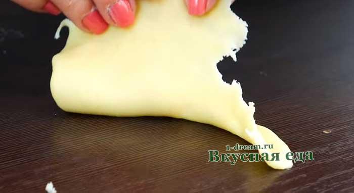 Тесто замесить для торта