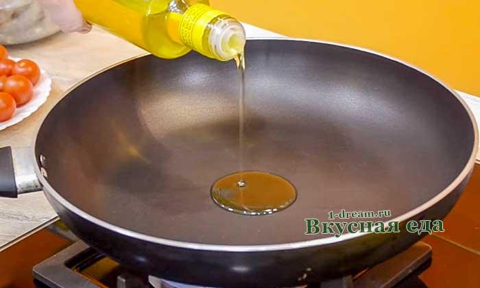 Оливковое масло для гренок