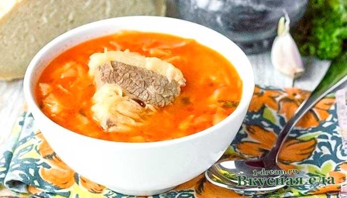 Рецепт вкусных щей из говядины и свежей капусты-рецепт с фото