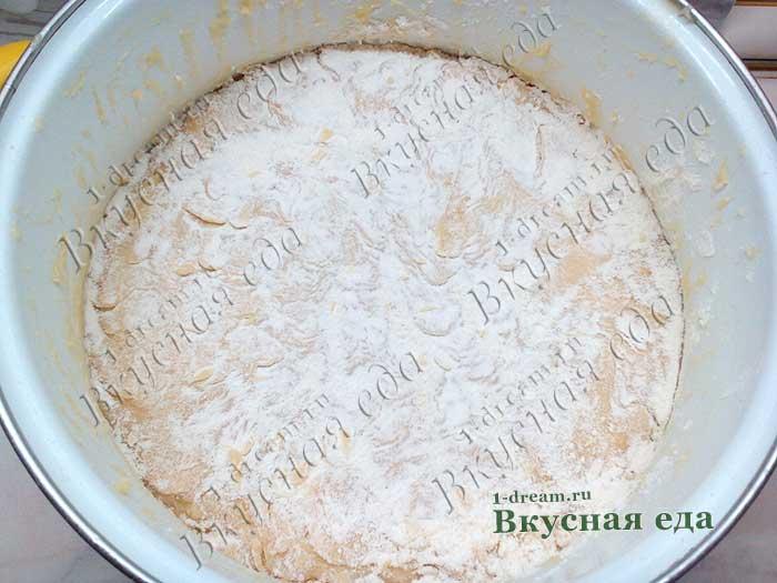 Тесто для Царского кулича готово