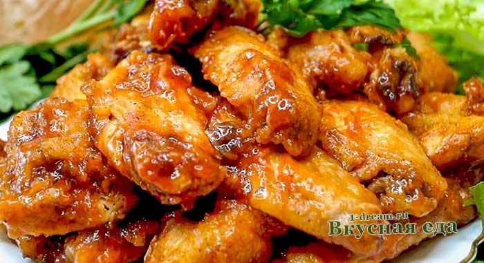 Куриные крылышки - 9 рецептов приготволения в домашних условиях с фото