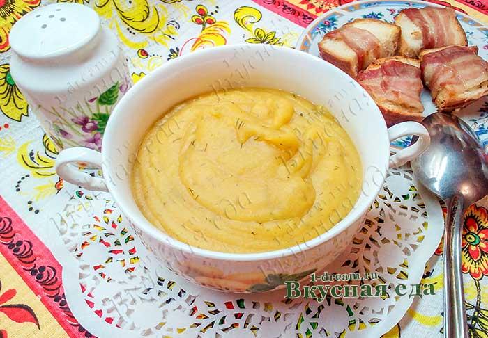 Крем-суп из чечевицы -рецепт с фото по щагам