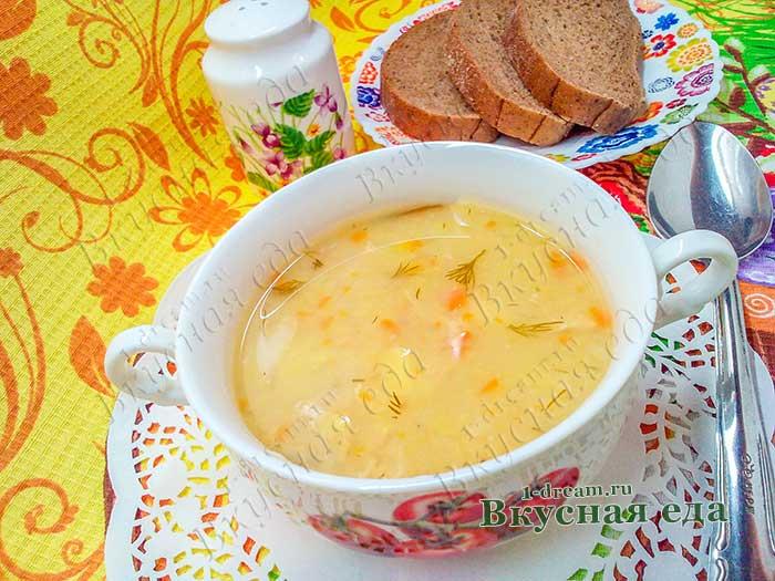Суп из красной чечевицы- простой рецепт с фото