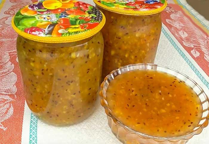Варенье из крыжовника с апельсином-рецепт с фото