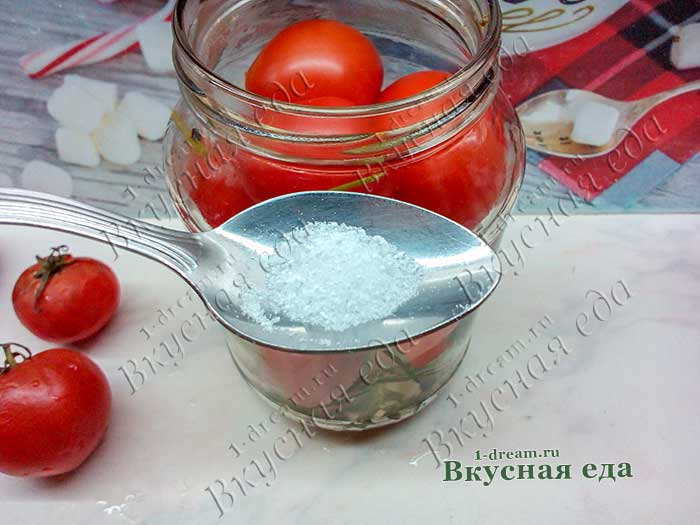 Лимонная кислота дял маринования помидоров