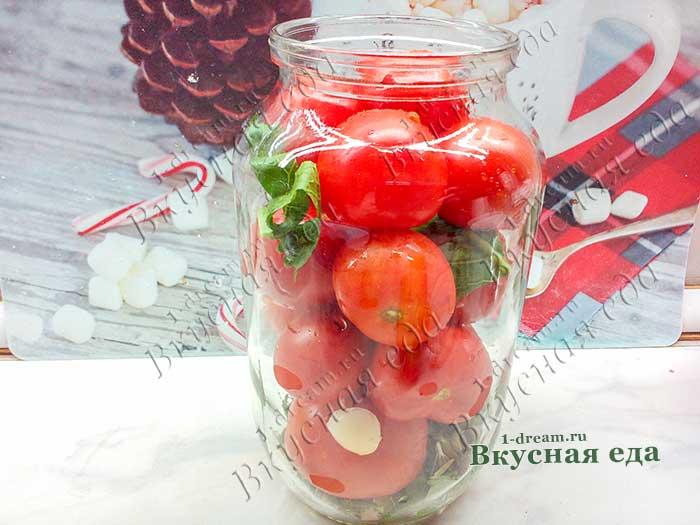 Мариновать помидоры в 1,5 л банке