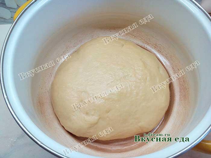 Тесто для кулича готово