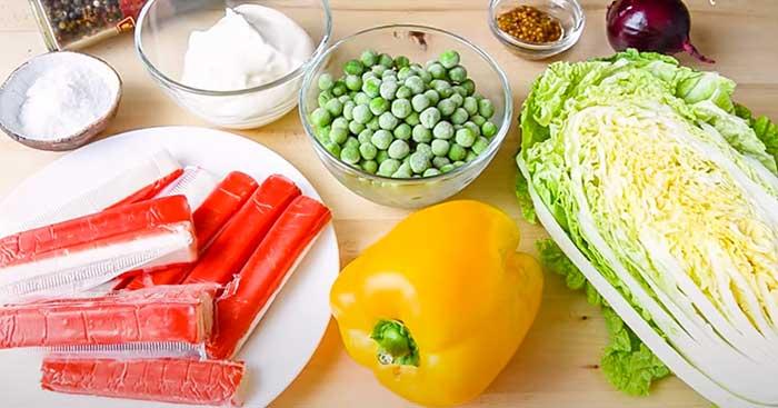 продукты для вкусного пп-салата