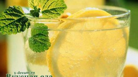 Домашний лимонад газированный