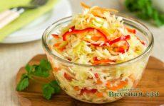 Маринованная капуста — 10 быстрых рецептов