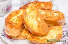 Вкусные гренки из хлеба — 11 простых рецептов